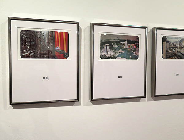 Andrea Canepa. Arquitecturas del futuro pasado. 2015