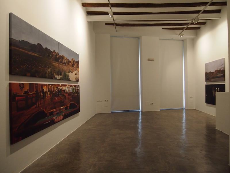 Installation Rosa Santos Gallery