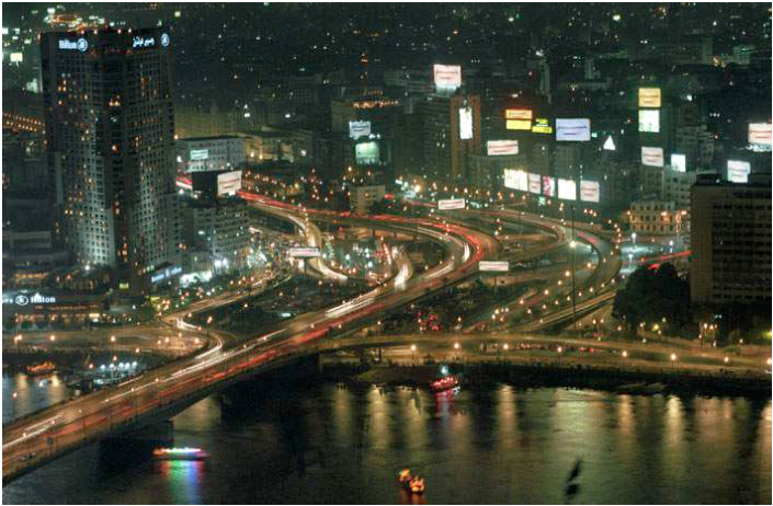 Cairo by Night (Domestic Tourism Series). 2008. C-print. 50x75cm
