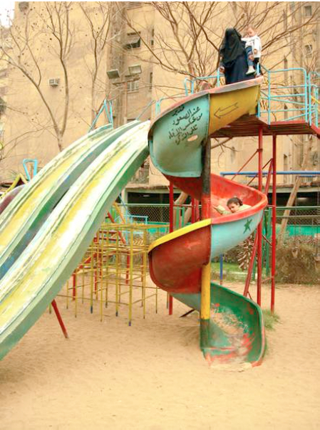 ElSayyida Park #01. 2006. C-print. 65x50cm