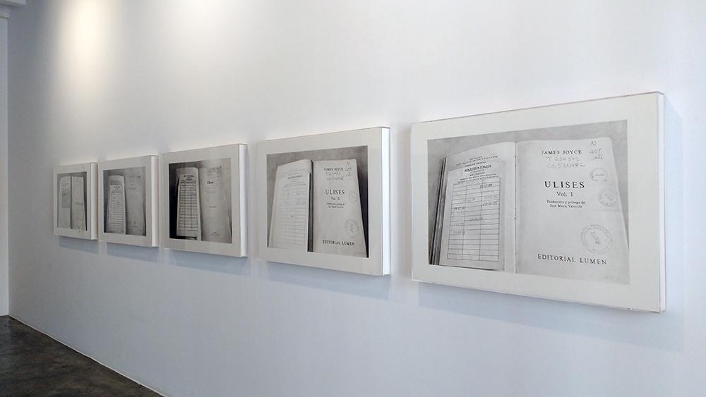 Serie Ulises, 2015-2016. Grafito sobre papel.